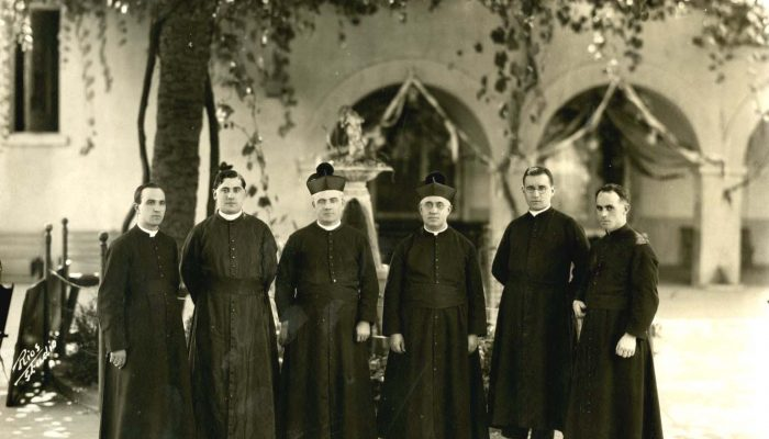 Claretian Community, Our Lady Queen of Angels, downtown Los Angeles, CA, 1928