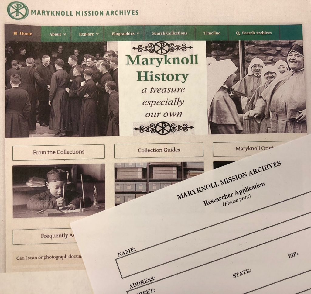 Maryknoll Mission Archives